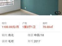 出租畅博 公园首府1室2厅1卫75平米1000元/月住宅