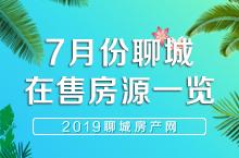 聊城市区2019年7月份在售房源信息一览