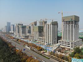 11月5日星光·聊城国际金融中心工程进度播报