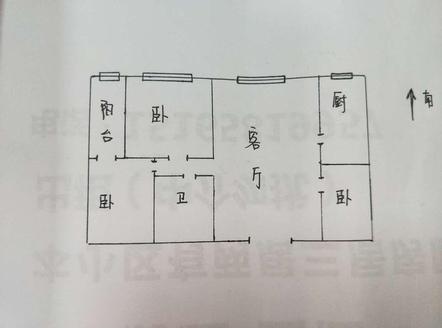转盘 昌润莲城 清水湾 丽水阳光 精装修 3室95万可按揭