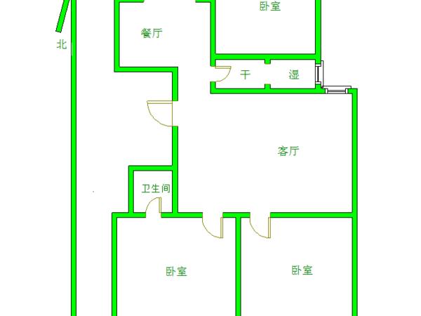 开发区振华南临 星光东昌丽都精装3室2厅2卫 婚房装修 可按揭 南北通透 公摊低