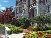市委家属院 英伦花园 精装三室 170平 带车位 储藏室 可按揭