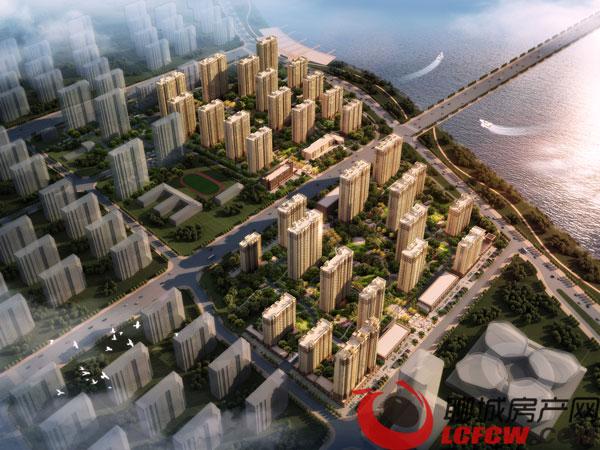 昌润·莲城北区沙盘图