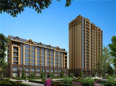 脑科医院北邻,住宅的价格买别墅现房220平方3 4层,送大地下室送后院 随时看房