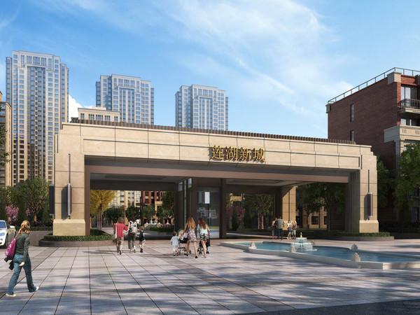 出租裕昌 莲湖新城3室2厅1卫115平米1500元/月住宅