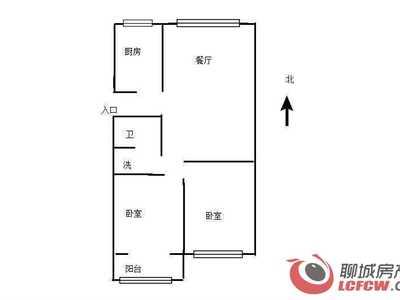 聊城二中北邻 金柱文苑 精装两居室 可改三室 有证 可按揭
