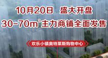 万达广场·欢乐小镇 10月20日盛大开盘