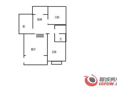水晶城新出3室:客厅带阳台、高档错层免大税、个税、全明户型仅此一套