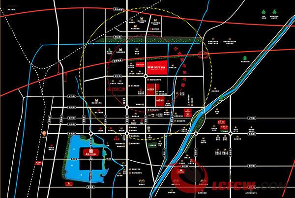 荣盛·阿尔卡迪亚交通图