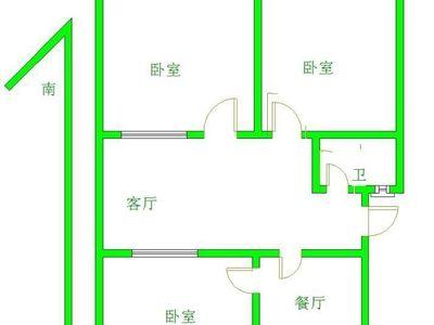 光岳花园西邻 山环北苑 新出三室 黄金3楼 免大税 、看房方便!周边性价比最高