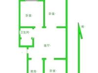 名人苑二期,3室1厅1卫,地暖。