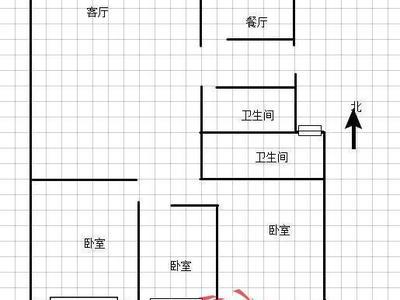 东昌路 英特小学 新出好房 三室朝阳 双卫免大税 黄金3楼 看房方便