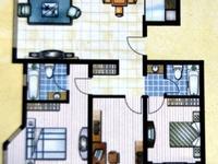 七中东 亚大怡景对过欧景丽都欧式风格一层,三室两厅两卫送地下室随时看房