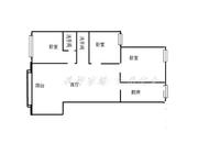 月亮湾D区 电梯房 空房三室 适合办公 回迁人士居住 随时看房 有钥匙