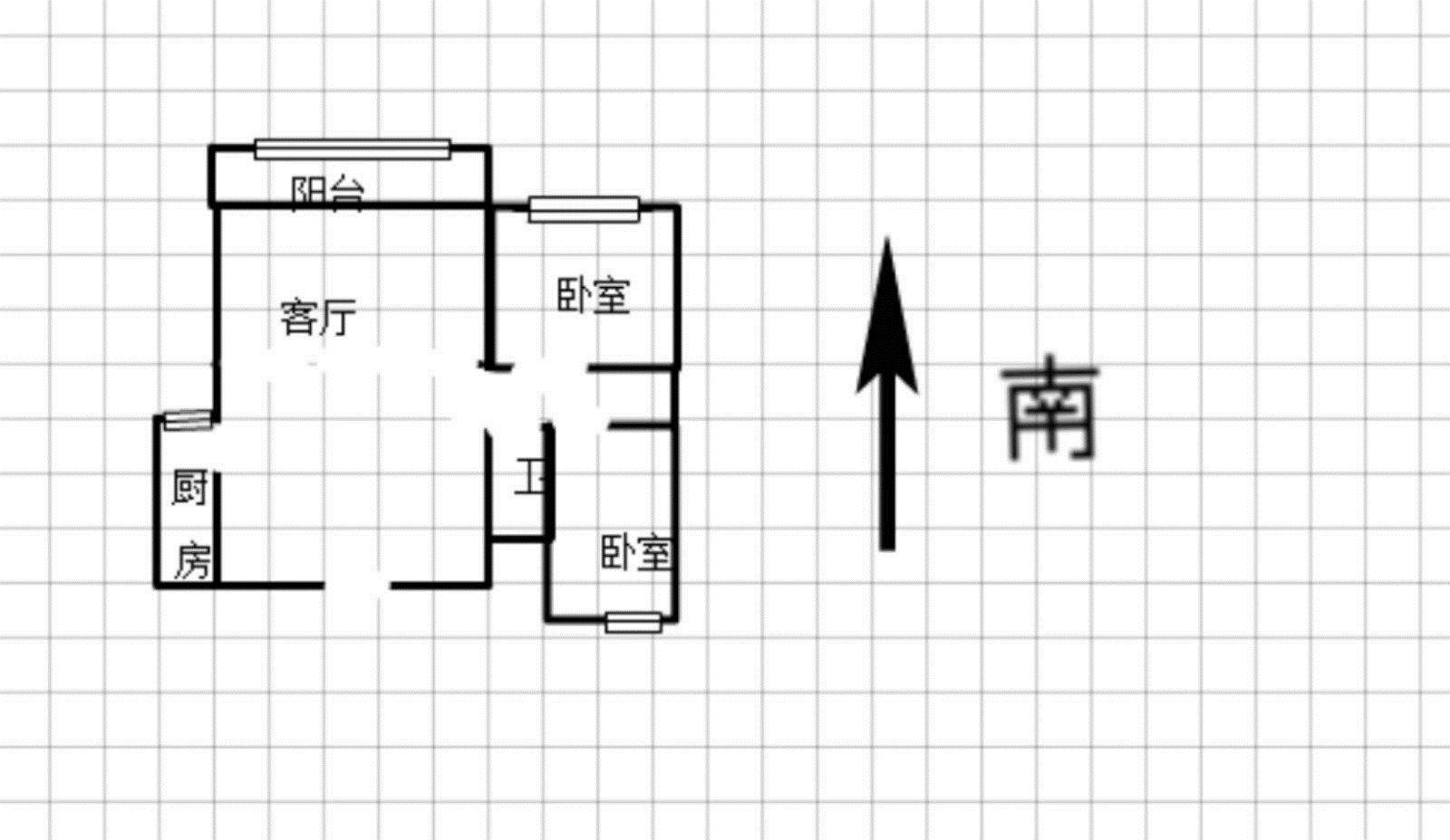 整租 东昌华庭 可居住可办公 1600月 有钥匙随时看房