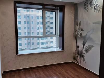 紧邻月季公园,九州花园 豪华装修四室208平,带双车位包更名