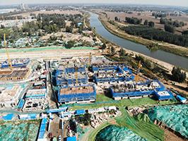 10月15日江北水鎮·當代盧卡莊園工期進度播報