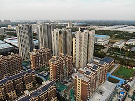 10月15日華建1街區工期進度播報 105-145平房源熱銷中