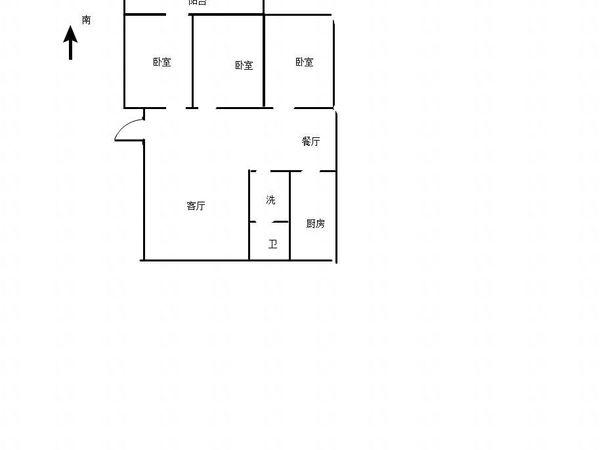 温泉花园东区 精装大三居 小区停车便利 免大税可按揭贷款 看房有钥匙
