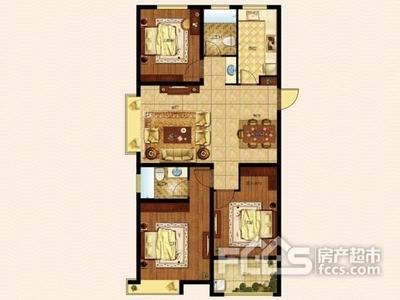 当代国际精装好房3室2厅2卫双阳台送车位