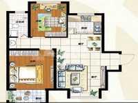 出售荣盛 水岸花语2室2厅1卫76平米76万住宅