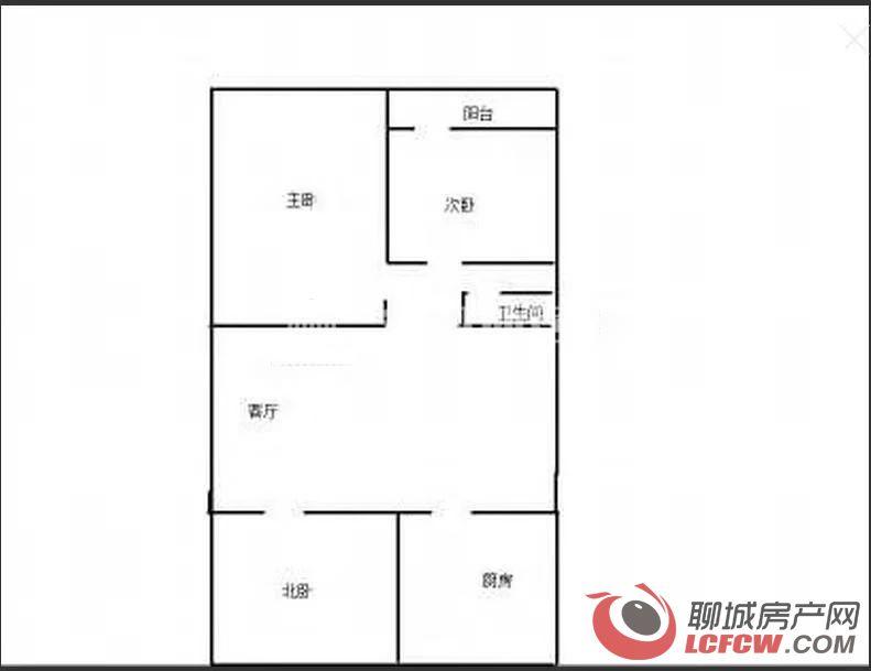新兴小学对面三室一厅1100元家具齐全随时入住