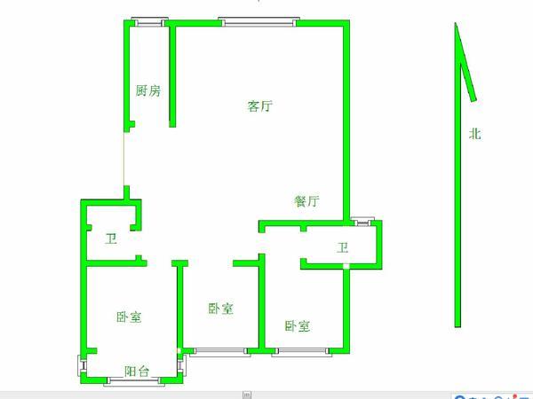满二唯一住房 送车位送储精装修 123平 楼层好 视野无遮挡