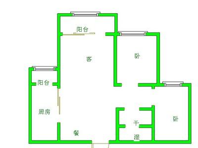 海德旁 金柱大学城 精装修两居室 85平 80万带车位储藏室