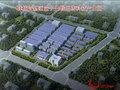 聊城高新区量子生物医药科技产业园沙盘图
