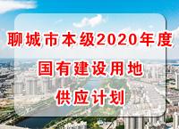 聊城市本级2020年度国有建设用地供应计划