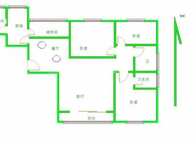 文轩片区龙湾南邻恒大名都3室2厅2卫精装修带车位边户
