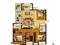 出售榮盛 錦繡學府3室2廳2衛143.7平米150萬住宅