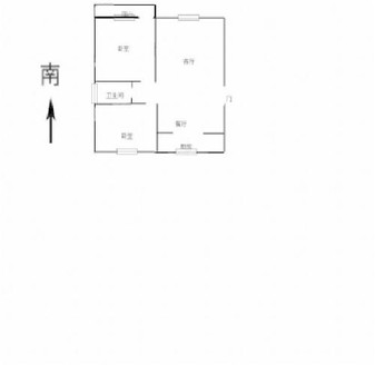 湖边 东方双语名人苑一期电梯洋房多层全明户型证满五