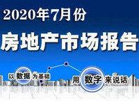 地产月报:2020年7月份聊城市房地产市场运行报告