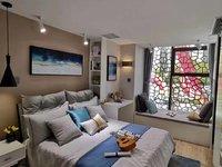 开发区当代国际附近,精装复式公寓,买一赠一,随时看房