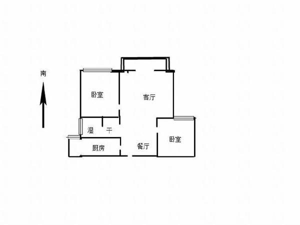 首付17万!星美城市广场送车位储藏室,精装两室两厅,可贷款