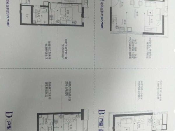 单价八千多江北水镇住洋房带车位储藏室采光极好户型好!