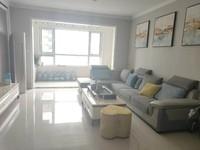 昌润莲城,精装3室高层观景,121平客厅朝阳,带车位带储