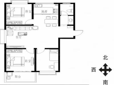 高新区文轩西邻裕昌国际送车位边户三室免大税149万