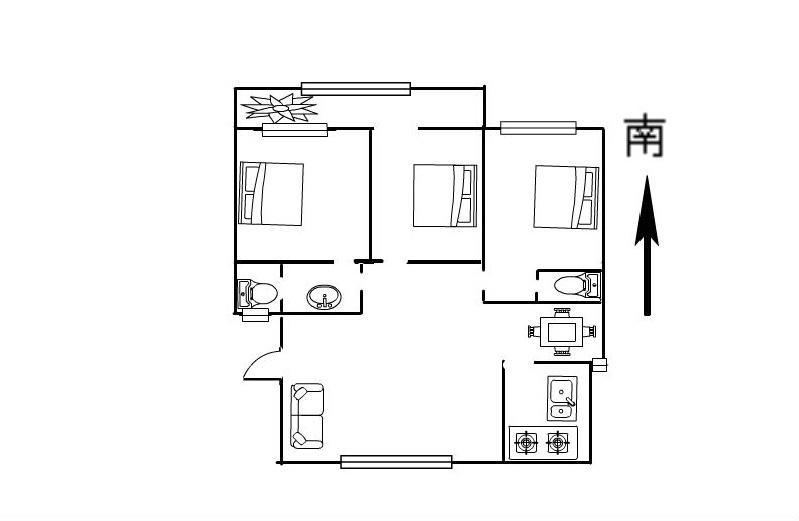 振兴东路 欧景丽都 精装3室 三室朝阳 拎包入住 随时看房