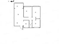 急出租湖北小区1楼90平三室一厅一卫月租金1150元